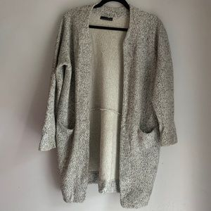 Zara gray lightweight coat